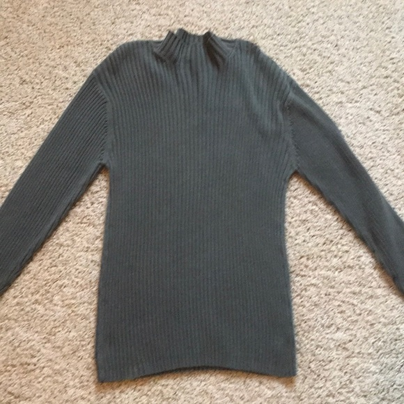 Cherokee Other - Men's olive green ribbed sweater